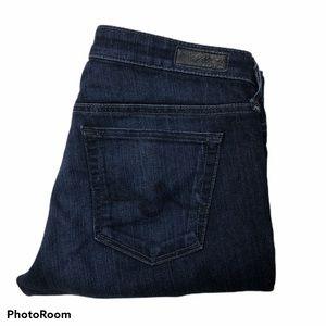 AG The Stilt Low Rise Stretch Cigarette Leg Jeans